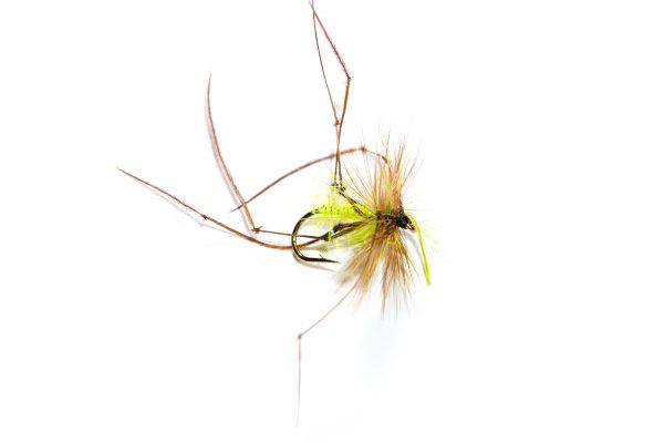 UV Straggle Daddy Long Legs Natural Fishing Flies, Fish Fishing Flies