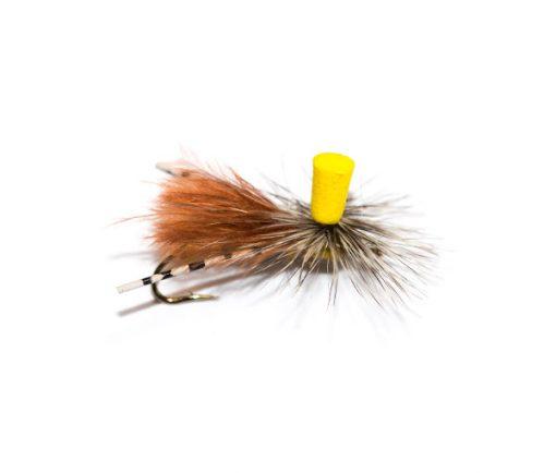 http://www.fish-fishingflies.co.uk brings you the selection of dry stimulator flies, No Wonder Fly Callibaetis