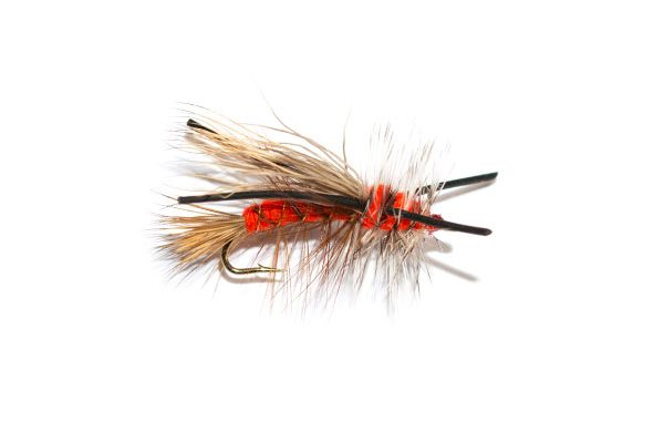 Fish Fishing Flies brings you the Dry Stimulator range X Stimulator Orange