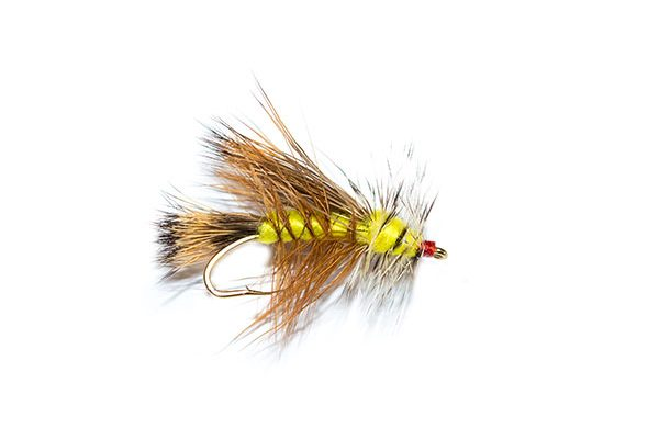 Fish Fishing Flies brings you the Yellow Dry Fly Stimulator