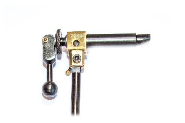AA Black and Brass Waterburn Brand Fly Tying Vice from Fish Fishing Flies.