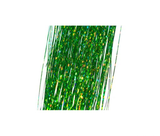 Green Holograpic Tinsel 150 strand 280mm long Fly Tying