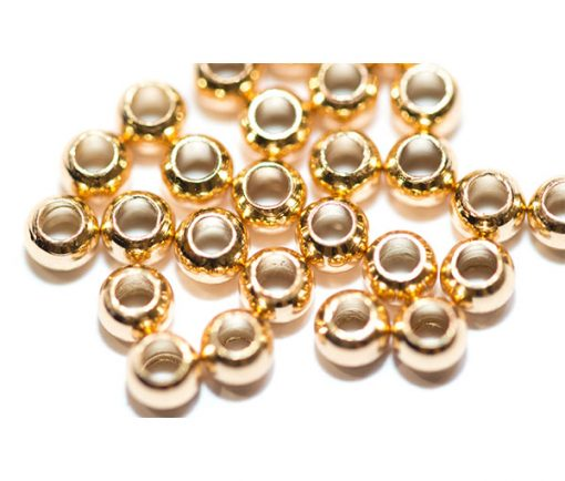 Waterburn brass beads for fly tying.