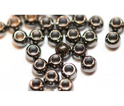 Brass Beads for fly tying Dark Bronze