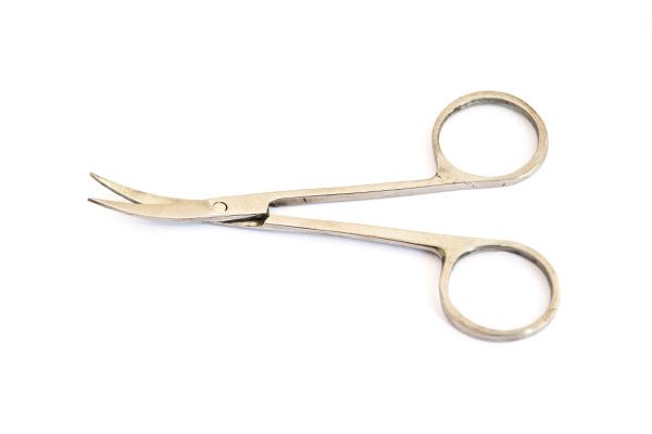 Fish Fishing Flies, Waterburn Classic Curve Point Scissors 100mm