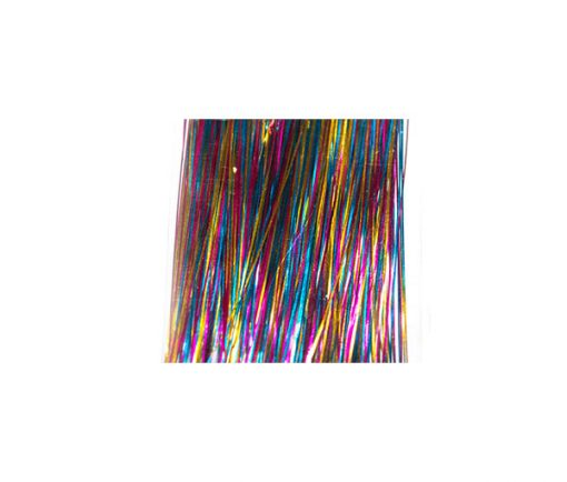 Waterburn Fineline Ultra Holographic Tinsel 150 strand 280mm long Fly Tying Tinsel
