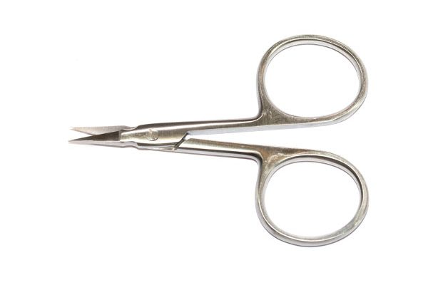 Fish Fly Tying Materials, Waterburn Pro Laser Fine Point 95mm Fly Tying Scissors