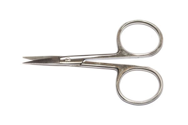 Fish Fly Tying Materials and Tools, Waterburn Pro Slim Point 105mm Fly Tying Scissors