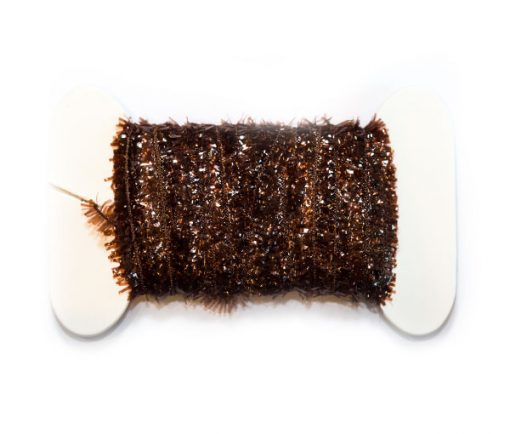 Waterburn Synthetic Line 7mm Cactus Straggle Mini Fritz Card Bobbin dark brown