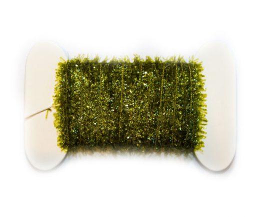 Waterburn Synthetic Line 7mm Cactus Straggle Mini Fritz Card Bobbin olive