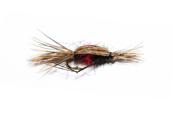 Double Humpy Bibio Fish Fishing Flies