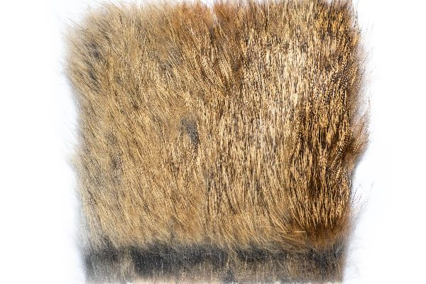 Hare Fur Patch 100mm x 90mm aprx