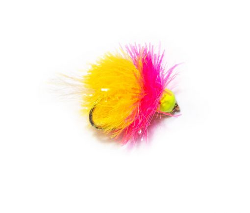 Popular Trout Fising Flies for Fishery Trout - Hi Vis Cocktail Blob Trout Fishing Flies online.
