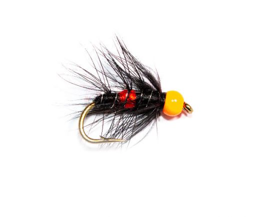 Hi Vis Orange Hot Head Bibio Buy Fishing Flies Online
