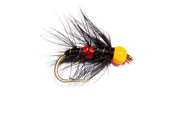 Hi Vis Orange Hot Head Bibio Buy Fishing Flies Online