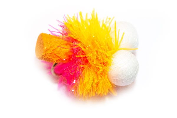 Only the finest quality hooks and materials are used to tie our fishing flies. Orange Sunset Foam Blob Booby. Fish Fishing Flies