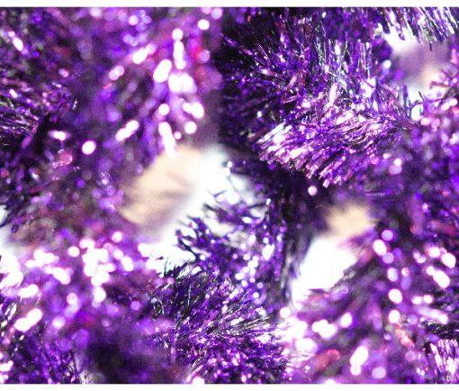 Purple Flash 15mm Fritz, Waterburn barnd fly tying