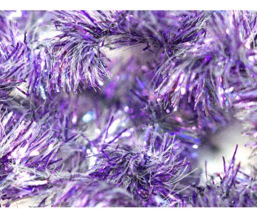Waterburn Fly Tying Materials at http://www.fish-fishingflies.co.uk Purple Shimmer 15mm Fritz