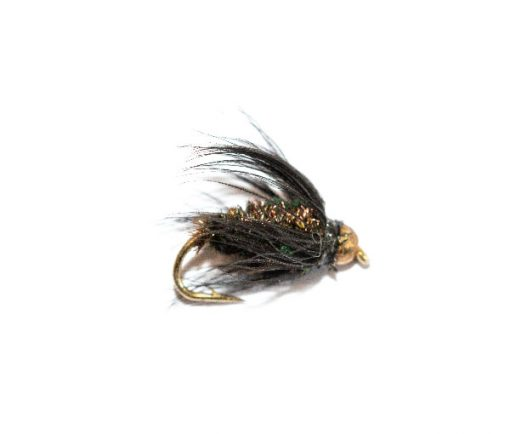 Black and Peacock Wet Fly Goldhead, Buy Fishing Flies Online