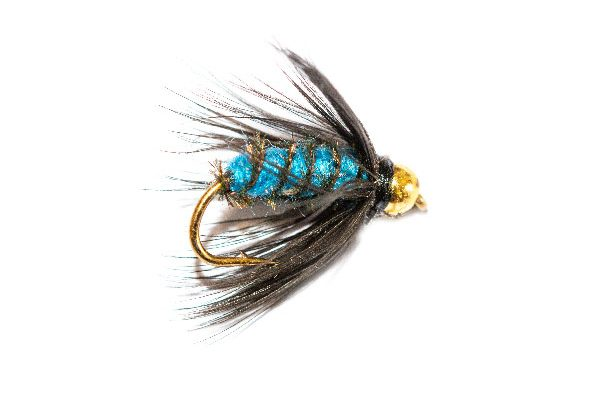 Blue Bottle Wet Fly Goldhead, Fly Shop
