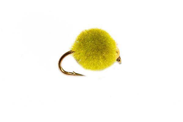 Gold Nugget Olive Crystal Egg