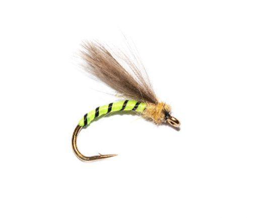 Fishing Flies at their best, Grannom Emerger