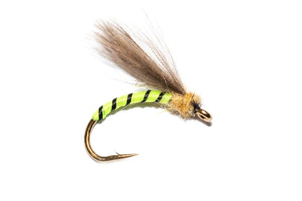 Fishing Flies at their best, Grannom Emerger