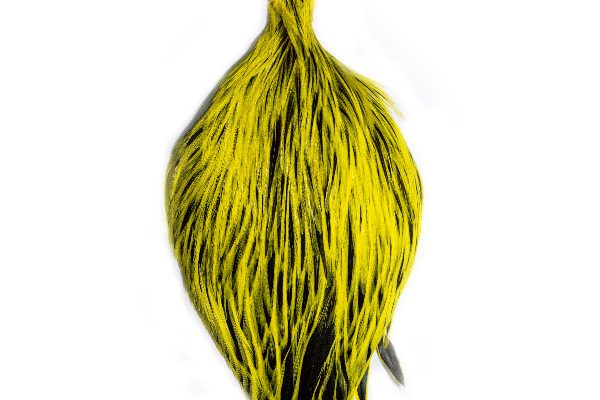 Yellow Badger Cock Cape