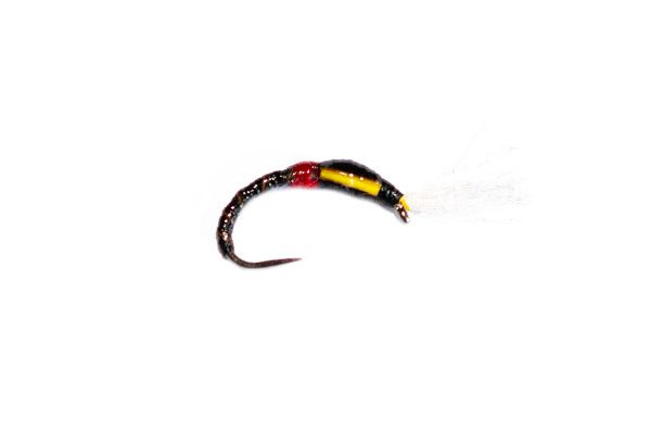 Black Quill Epoxy Buzzer Fishing Fly