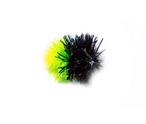 Shop Online for Fishing Flies at Fish Fishing Flies, Black Tri Colour Blob