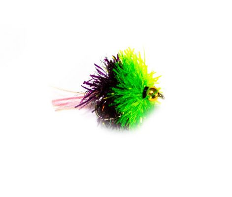 Black and Green Goldhead Blob Fishing Flies Online