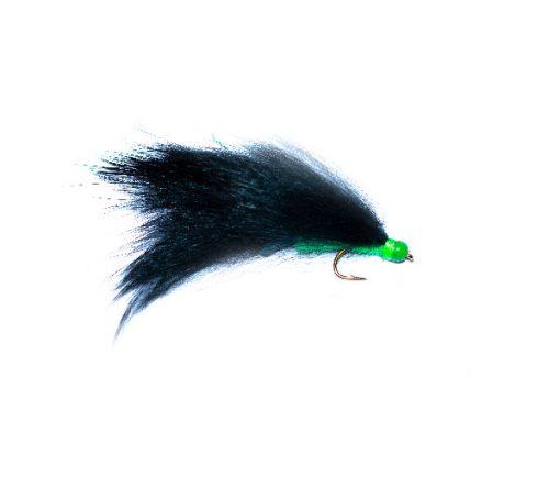 Green Head Flapper Zonker, Fish Fishing Flies Quality