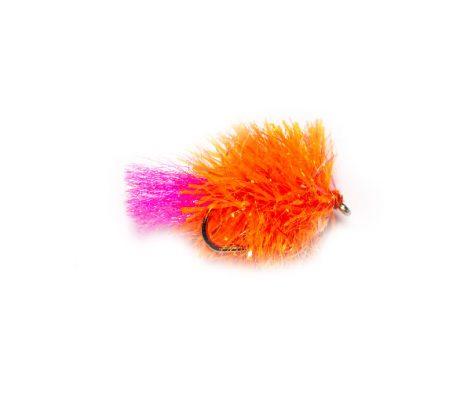 Hi Vis Orange Blob Fish Fishing Flies