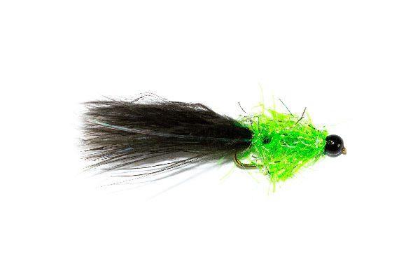 Trout Fishing Fly Shop, Krystal Black Cat Tadpole