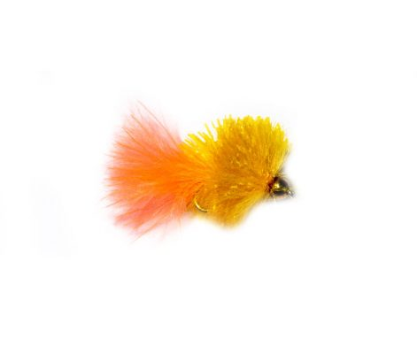 Light Orange Peach Tail Goldhead Blob