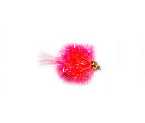 Pink Goldhead Blob Trout Fly