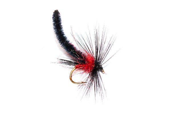 Dry Palamino Bibio Midge Fishing fly