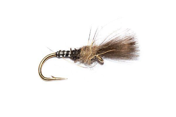 Black Mirage CDC Fishing Fly