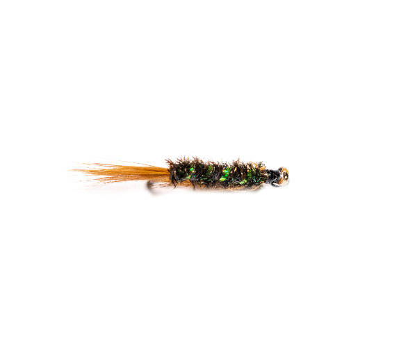 Barbless Trout Flies Size 10 4 Pack Goldhead White Fritz Fishing Flies