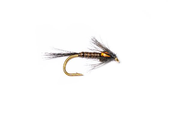 Fish Fishing Flies, Olive and Yellow Flash Back Spider