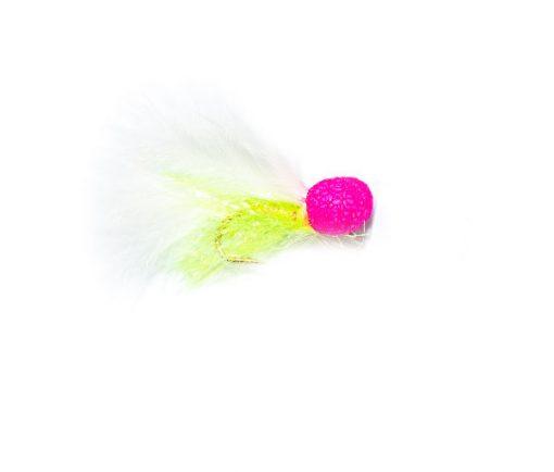 Pink Eye Booby Woofta Fishing Fly