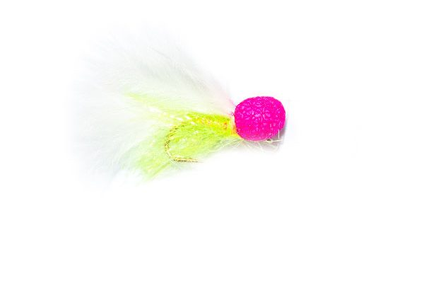 Pink Eye Booby Woofta Fishing Fly