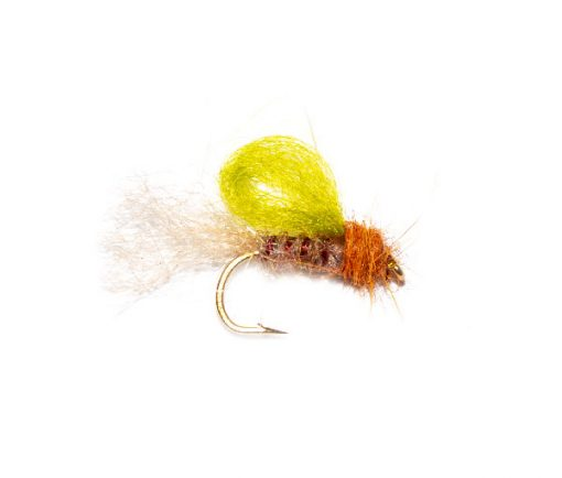 Poly Mayfly Emerger, Trout Fly