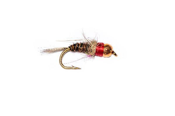 Fish Fishing Flies Brand, Read Neck Pheasant Nymph
