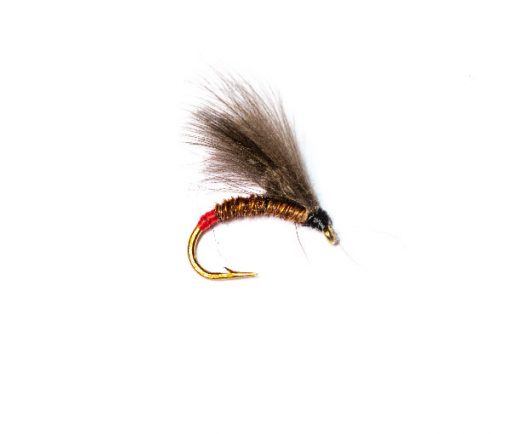 Fish Fishing Flies, Red Butt Pheasant CDC Emerger