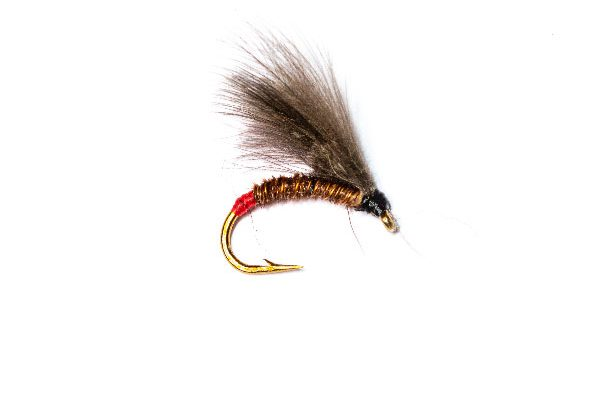 Fish Fishing Flies, Red Butt Pheasant CDC Emerger
