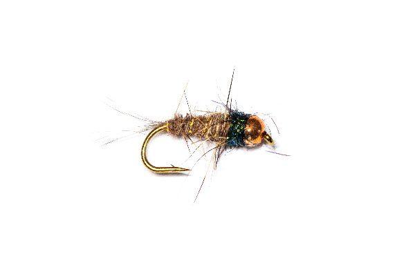 Fish Fishing Flies, Riffle Nymph Copper