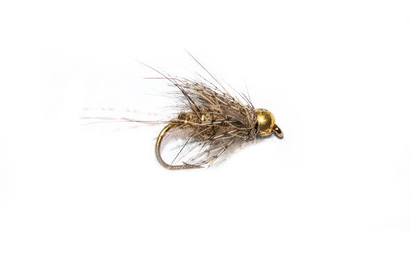 Trout Fishing Flies Top Ten, Soft Hackle Hares Ear Sparkle Tail