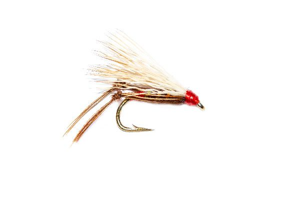 Trout Flies Claret Harray Hopper
