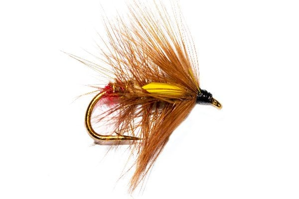 Copper Top Wet Trout Fly